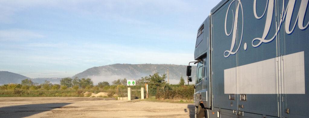 removal van in Sussex